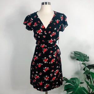 NWT Nordstrom La Classe Couture floral wrap dress